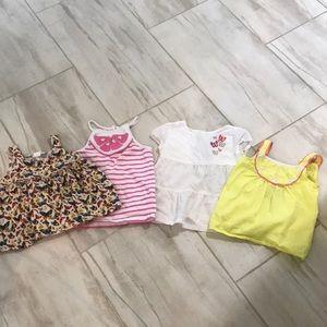 Toddler girl tanks